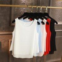 Camisas de las blusas de las mujeres Yuanyu Llegada Tops Chiffon verano suelto y grande Tamaño de pulso Camisa M-5XL