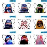 Mochilas DSTRING BACKWOODS DSTRINGS Bolsa de bolsa personalizada Cinch Sacks Quick Aess Aess Cremallera Pocket Mens String Backpack JLLLPXM