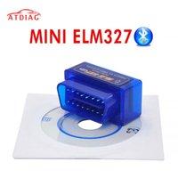 Top-Qualität OBD2 Wireless ELM 327 V2.1 Super Mini Elm327 Bluetooth Multi-Sprache kann auf Android / PC-Diagnosetools ausgeführt werden