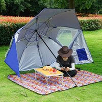 Tents And Shelters Outdoor Fishing Sun Rain Canopy Umbrella For Camping Park Beach Sports Events Accessories