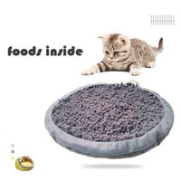 Pets Snuffle Pad Soft Slow Feeder for Dogs Chew Cats Nose Work Toy Treats Dispenser IQ Training Slowly Eating Washable Sniffling Puzzle Mat