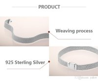 arrival 925 Sterling Silver Reflexions BRACELET Set Original Box for Pandora NEW Hand Chain Bracelets for Women Mens