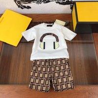 2021 Kinder Sommer Zwei PCS Sets Design Mädchen Jungen Outfits Einzelhandel Kleidung.