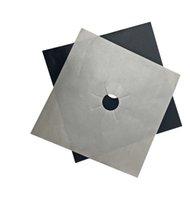 Fatotop Revestimiento de gas Hob Protector Reutilizable Foil Hob Language Cubierta de la placa de la plataforma de la plataforma del quemador de la plataforma Cubierta de la cubierta de la tapa de la limpieza Herramientas de la cocina RRD6883
