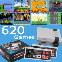 Video Game Console Mini TV Output Handheld AV 8Bit Retro Gaming Player Built-in 621 620 Games Gift Children Adult EU AU US Plug