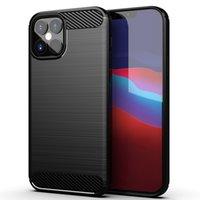 Per i custodie per iPhone 13 Custodie per cellulari Semplice Custodia per cellulare in TPU Anti-Drop a colori solido