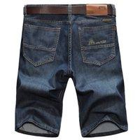 Zhan Di Ji PU Nouveau Mens Jeans Menswear Milieu d'entreprise Dinge Denim shorts 8136