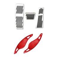 3 قطع الفرامل الدواسات لا حفر الوقود الغاز مع عجلة القيادة مجداف شيفتر ملحقات، لمدة 3 5 6 7 x3 x4 x5، g20