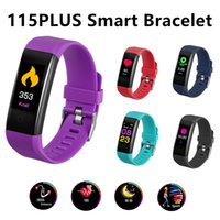 115plus Wristband Fitness Tracker Heart Rate Sleep Monitor 0...