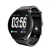 الأساور الذكية W6 smartwatch الرجال الصحة اللياقة البدنية الفرقة القلب معدل السعرات الحرارية مكافحة النوم تتبع ماء سوار المرأة 1