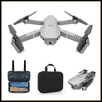 E68 Mini Small Drone 4K Camera Adults Kids Remote Control Plane Toy One Key Return Voice Control UAV for Beginners