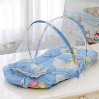Bedding Sets Baby Mosquito Net Foldable Without Installation Pillow With Cotton Pad