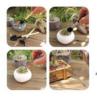 13 piezas Mini Garden Hand Transplanting Herramientas suculentas Juego de plantaciones en miniatura para el cuidado de la planta de jardín de hadas en miniatura DHF6668