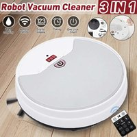Robot Vacuum Cleaner 1800Pa Strong Suction Cleaners Remote Control Home Floor Sweeping Household Electric Sweeper