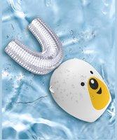 Smart 360 Dreamless U Sonic Spazzolino elettrico per bambini Silicone Automatico Automatico Spazzolino ad ultrasuoni Denti per bambini