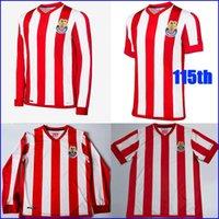 2021 Чивас 115 юбилейный комплект Футбол Джерси 21 22 Лига MX Guadalajara 115 лет Футбол футболка с длинным рукавом Верхняя винтажная классическая форма