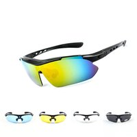 0089 cycling windproof polarizing glasses outdoor sports sunglasses five lens set