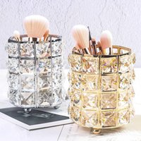 Storage Boxes & Bins BOUSSAC Fashion Women Makeup Brush Bucket Cosmetic Box Pencil Vase Comb Container