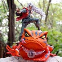 Lembrança de alta qualidade Presente de Natal Luxo Lembrança Memorabilia Dollfigures Top Toy Naruto Sanren vem do mesmo lugar. Ação Toad We.