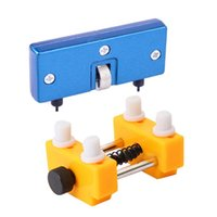Professional Hand Tool Sets Watch Adjustable Opener Back Case Press Closer Remover Repair Watchmaker And Holder