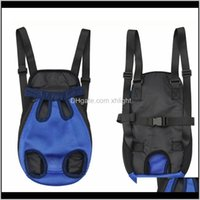 Car Seat Ers Dog Home & Garden Drop Delivery 2021 Sale Durable Portable Pet Front Chest Backpack Carrier Bag Comfortable Shoulders Carrying F