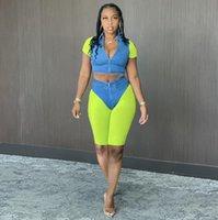 Tracksuits Designer yoga set V-Neck sexy t shirts Womens Outfits Suit running Gymshark Sportwear Tracksuit Fitness Camouflage Gym 2pcs Bra Align Leggings pants