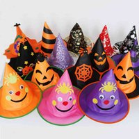 Halloween kids boys and girls witch wizard hat costume dress up cosplay accessory party