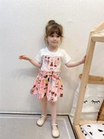 Summer Baby Girls Designer Dresses, Dress Plaid Bowknot Ruffle Senza maniche Bambini Principessa British Style Bambini Bow Sundress Y563