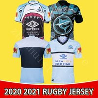 2020 Cronulla-Sutherland Sharks Rugby Jersey Chersey Chirsey الأصلي NRL Rugby League Jerseys Australia Maillot de Rugby