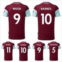 20 21 Ahşap Barnes Futbol Formaları Eve Uzakta McNeil 11 100 Yıl Kahramanlar Tarkowski Rodriguez 2021 Jersey Futbol Gömlek