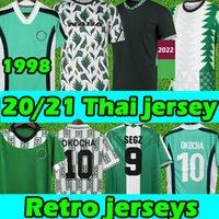 Nigeria soccer jersey 2020 Nigelia Jersey 20 21 Maillot De Foot Okecukwu Okalo Okocha Ahmed Musa Ndidi Mikel Iheanacho Homens Kit Kit Futebol Camisas 4xl