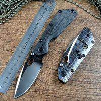 Strider SMF Тактический карманный нож D2 складной лезвие шарикоподшипник из углеродного волокна пламя титана ручка для наружной тактической поисковой охоты