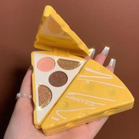 Eye Shadow 4.2g 4 Grids Eyeshadow Palette High Color Rendering Matte Shimmer Shine Powder Four-Color For Girl