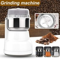 Electric Coffee Bean Grinder 200ml Blenders Home Kitchen Office Use Stainless Steel Portable Grinding Milling Crusher Grinders
