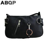 Evening Bags Canvas Bag Baguette For Women Fashion Trend Chains Shopping Working Handbags Under Arm Mini Shoulder