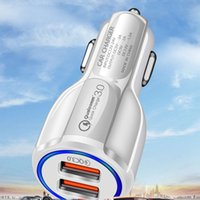 Useful Dual Usb Quick Charge 3.0 Fast Car Charger For iphone Samsung Huawei Smart Phone Mobile Adapter Universal