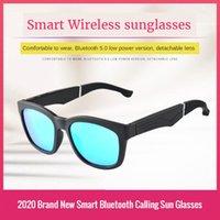 Sunglasses KAIXING Brand 2021 5.0 Wireless Bluetooth Music Call Smart Glasses UV400 Mirror Polarized For Men Woman K190