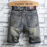 Mens Designer Summer Shorts High For Diesel Men Jeans Biker Ripped Pants Men Jeans Length Rock Shorts Designer Revival Knee Q Ngmma