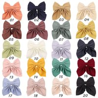women girls Hair Accessories Big Bow Knot Clip Headdress Hairpin Back Head Lolita Spring Barrette