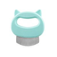 Pet Cat Dog Massage Comb Shell Comb Grooming Hair Removal Shedding Cleaning Brush Pet Supplies CCF6855