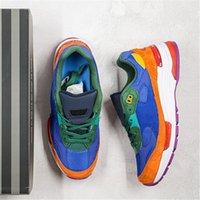 2021 Chaussures de course classiques Bleu et Orange Spots Hommes Femmes Formatrice Sports Sports de mode W992MC Taille 39-44