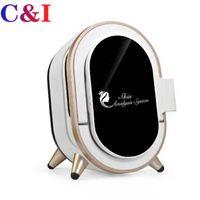 المهنية UV + RGB + PL ضوء الجمال ماجيك آلة مرآة للتحليل التلقائي Smart Skin Scanner محلل