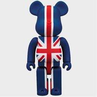 """11 """"Bearbrick 400% Brian Yaratıcı Bayrak Popobe BB KAWS Be @ Rbrick Kasvetli Orijinal Sahte Sanatçı PVC Action Figure Oyuncak Kutusu 28 cm C448 X0503"""