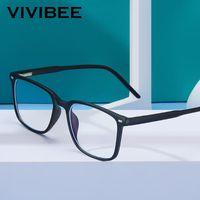 Trending Blue Light Blocking мужские очки Gaming TR90 Matte Black Ban Ray Eyeglasses Женщины прозрачные модные очки очки
