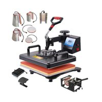 Heat Transfer Machines Multifunctional 9 in 1 Combo Machine Sublimation Press Printer For Mug Cap T shirt Phone Cases 3LEF