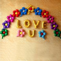 Flower Foil Balloons leaf Flower Baloon Birthday Party Wedding decorations Party Suplies Globos Baby Shower Girls Children toys RRD6812