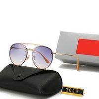 최신 판매 패션 3614 여성 선글라스 Mens Eyewear Gafas de sol 최고 품질의 태양 안경 UV400 렌즈 상자