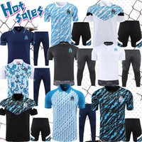 Thauvin Soccer Jerseys 20 21 Set L.Gustavo Payet Luis Henrique Benedetto 2021 OM معطف بولو كرة القدم ارتداء ملابس تدريب رياضية القمصان
