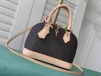 最高品質アルマBBファッション女性ショルダーバッグチェーンメッセンジャーバッグレザーハンドバッグシェル財布財布レディース化粧品クロスボディトート