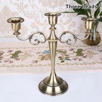 Candle Holders Holder European Style Stick Candelabra Wedding Candlestick Home Decor P7Ding